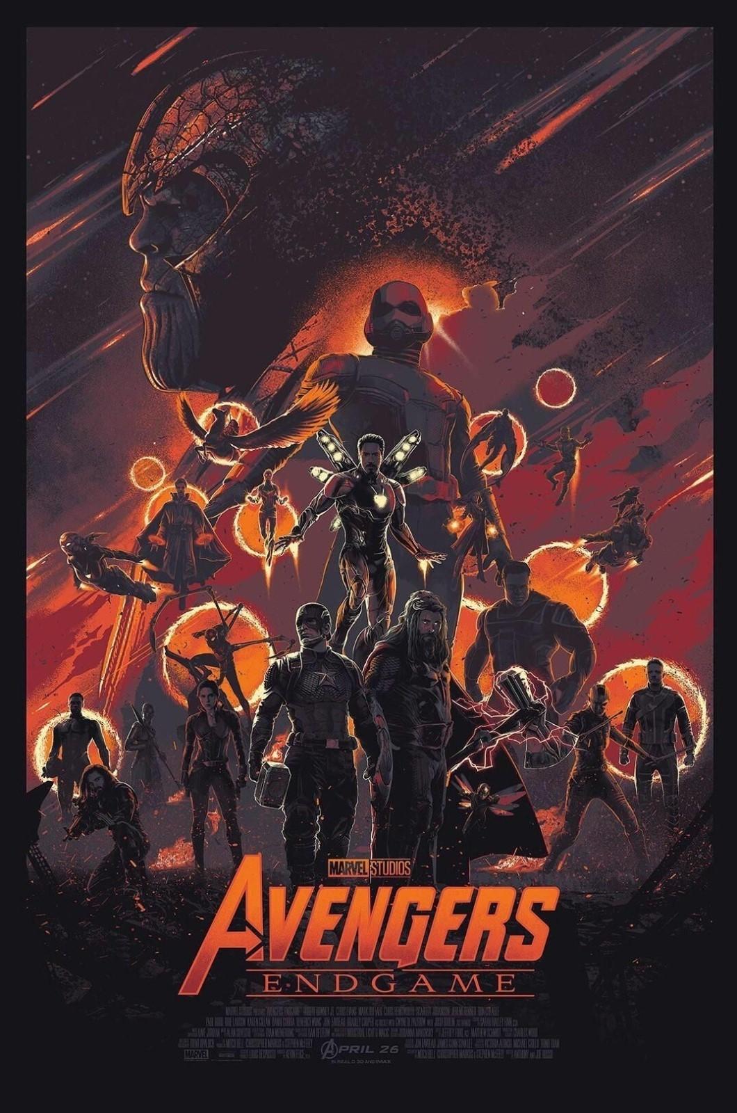 Avengers Infinity War Endgame Poster