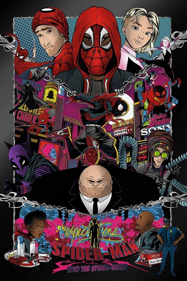 """spiderman """"into the spiderverse"""" variant 2"""