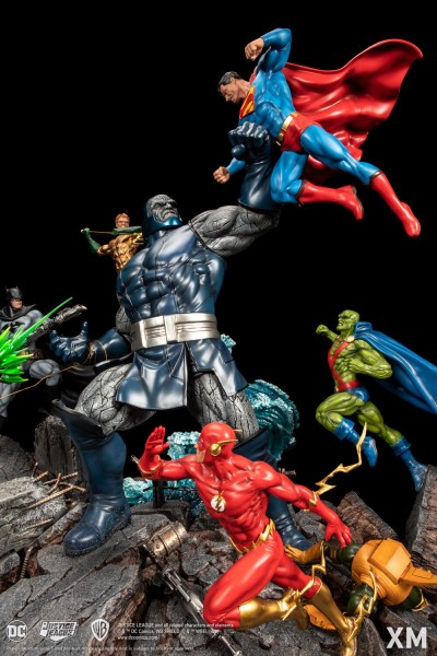 JLA vs Darkseid Ver A (Colour)