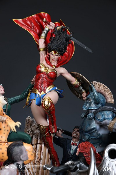 Wonder Woman Courage David Finch - Colour Version