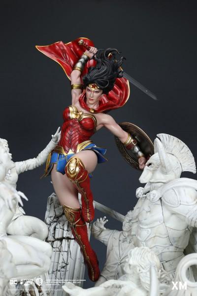 Wonder Woman Courage David Finch - Marble Version